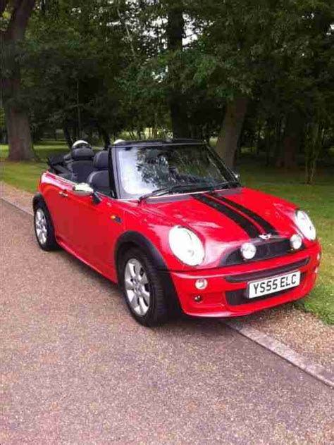Mini Cooper 6 by Mini Cooper 1 6 Convertible 05 Car For Sale