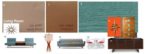 sherwin williams paint store knoxville tn knoxville modern 187 mid century moodboard madness