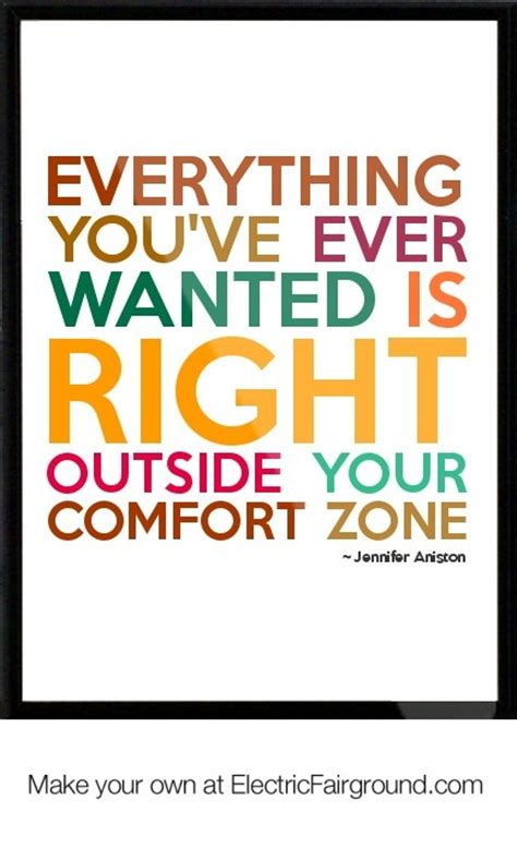 swift comfort zones jennifer aniston quotes and sayings quotesgram