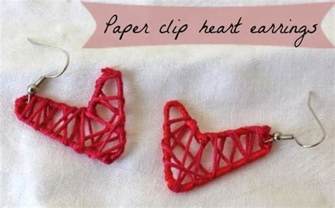 Paper Clip Craft - 20 diy yarn projects for this winter pretty designs