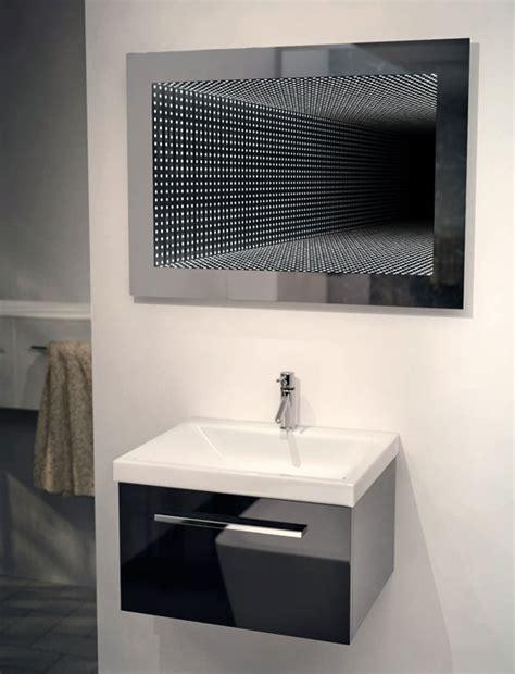 hacienda white wall mounted rgb led mirror contemporary perfect reflection rgb led bathroom infinity mirror