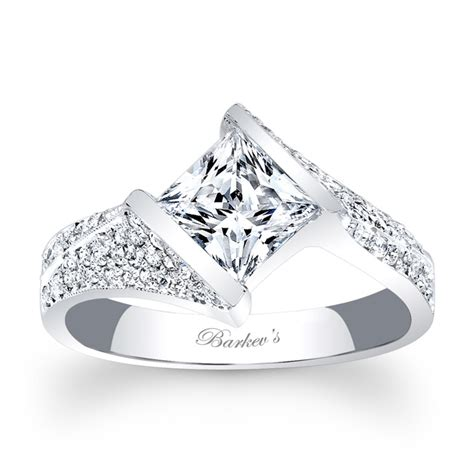 barkev s princess cut engagement ring 7872l