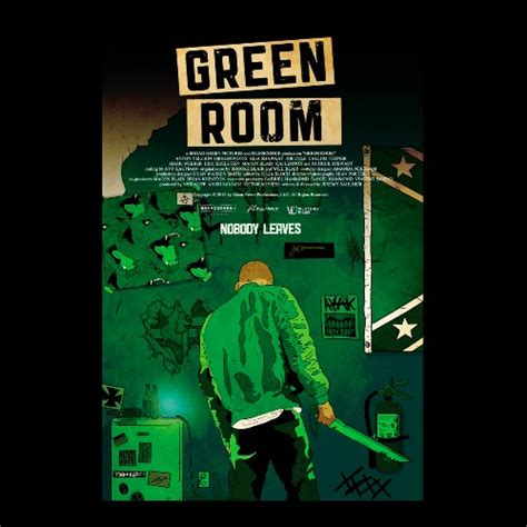 best room posters the green room movie poster