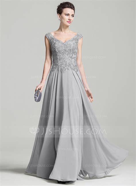 Brautkleider Größe 42 by A Formet Prinsesse V Hals Gulvlengde Chiffong Kjole Til