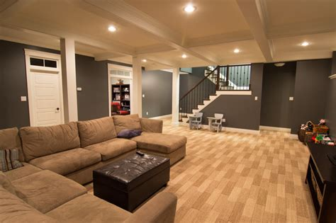 mullaghmore drive traditional basement other metro by craftsman construction