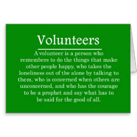 printable volunteer quotes volunteer appreciation quotes