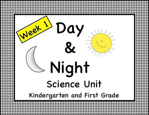 day kindergarten activities day and science unit lesson plans kindergarten