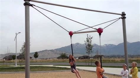 teeter swing teeter totter swing youtube