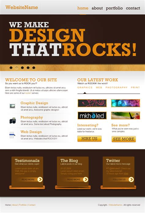 tutorial on website design in photoshop 10 easy web design tutorials for your business 2designers