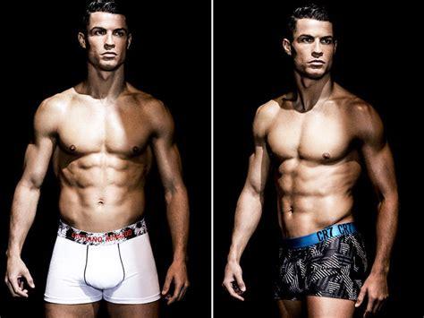cristiano ronaldo models new undies tmz com