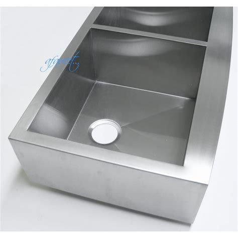 36 inch apron sink 36 inch stainless steel curved front farm apron 40 60