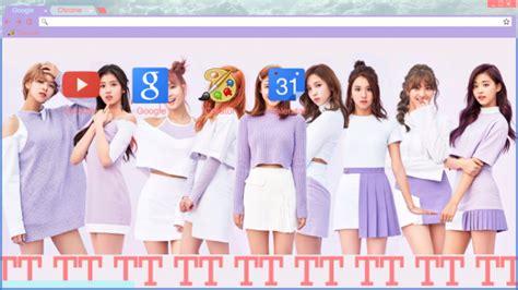 kpop theme makers twice tt chrome theme themebeta