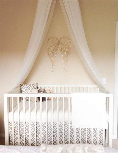 nursery gold wings design ideas