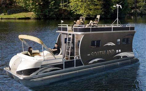 used pontoon boats with upper deck for sale pontoon with upper deck for sale southland boat present