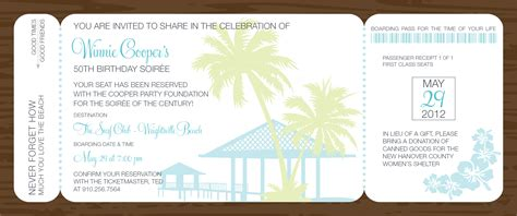 view id 1149 quot tropical boarding pass invitation quot