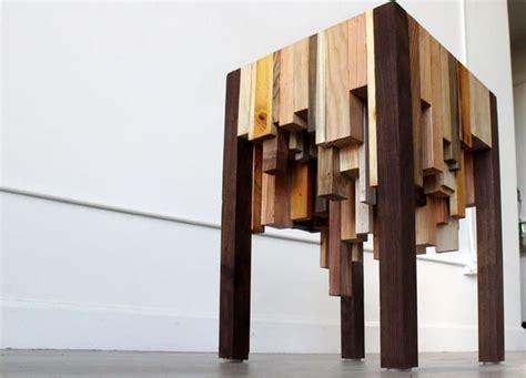 wood scrap  table