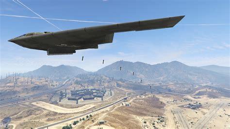 The Bomber b 2a spirit stealth bomber gta5 mods
