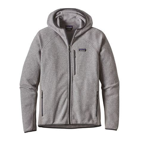 Hoodie Sweater patagonia mens performance better sweater fleece hoody