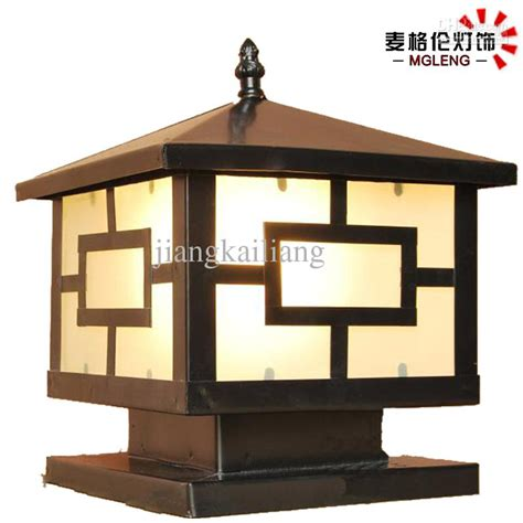 outdoor column lighting fixtures column lights outdoor warisan lighting
