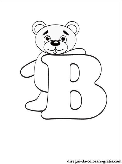 lettere dell alfabeto da colorare e stare lettera b disegni da colorare disegni da colorare gratis