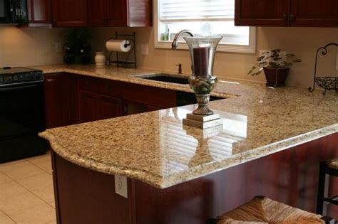 new venetian gold granite kitchen countertops cherry
