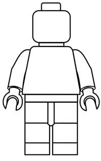 Lego Minifigure Template by Lego Mini Fig Drawing Template S Minifigures Flickr