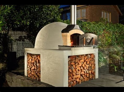 build  wood fired brick oven youtube