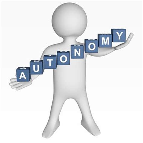 autonomy organization levels manager company