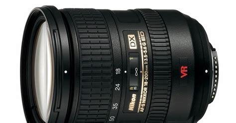 Lensa Kamera Untuk Nikon harga dan spesifikasi lensa nikon 18 200mm