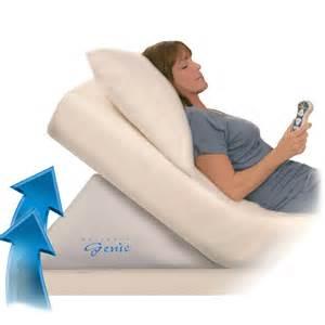 Bedroom Humidifiers Mattress Genie Adjustable Incline Bed Wedge The Green Head