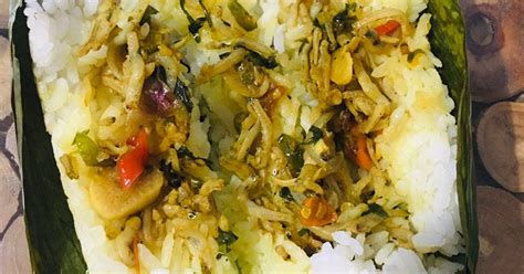 resep nasi bakar enak  sederhana cookpad