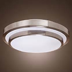 led light fixtures for kitchen lightinthebox home office white flush mount in shape