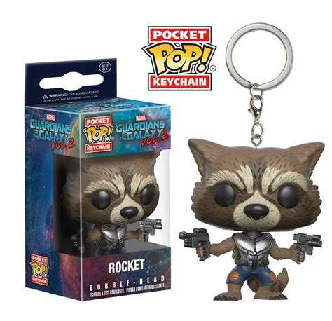 Funko Pocket Pop Keychain Marvel Guardians Of The Galaxy Groot pint size heroes archives fpn