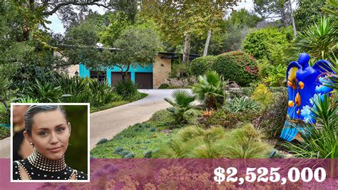 miley cyrus s house miley cyrus buys a scenic retreat in malibu for about 2 5 million la times