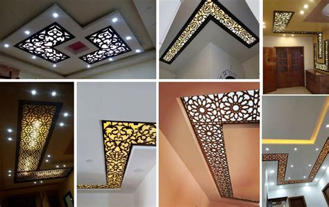 House Design Ideas Floor Plans 3d 16 Modern Cnc False Ceiling Corner Designs Ideas Decor Units