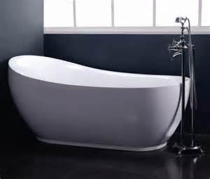 modern free standing slipper oval soaking bathtub 90667815