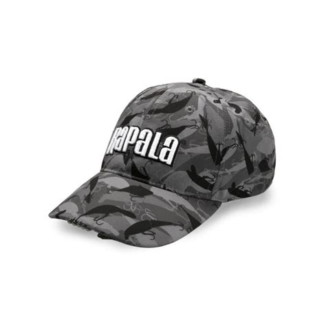 camo hat with light rapala camo fish lighted cap fishing hat with 5 led