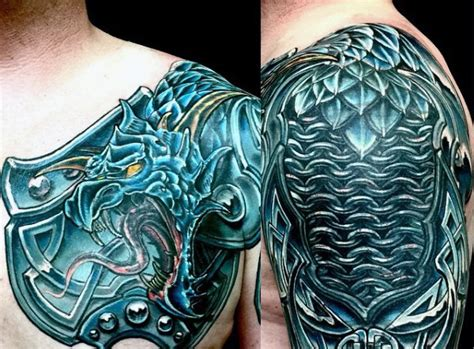 celtic armor tattoo top 90 best armor designs for walking fortress