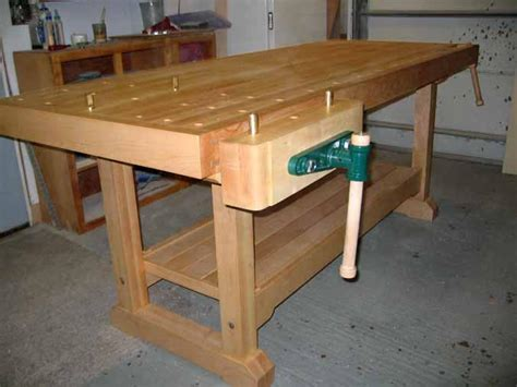 wood workbench plans free how to make a woodworking bench