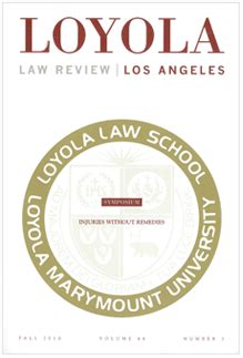 california business and professions code section 17200 loyola of los angeles law review vol 44 no 1