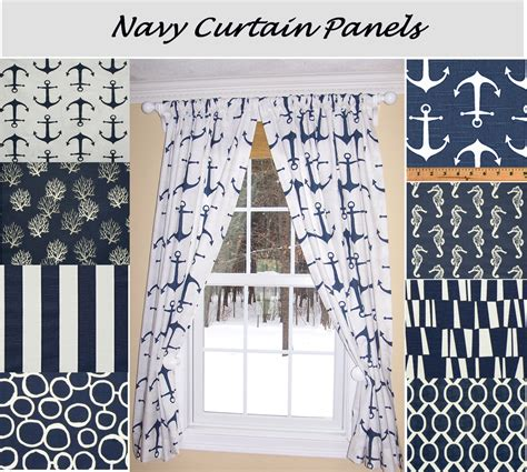 nautical curtain valance nautical curtainsnavy curtainsblue curtains sailing ocean