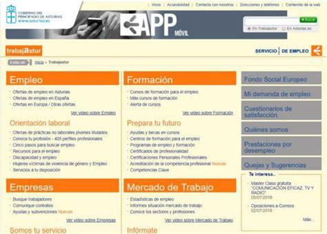 pedir cita oficina empleo cita previa trabajastur sepe asturias adminf 225 cil