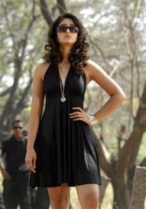 Ileana Wardrobe Malfunction by Ileana Legs Show In Black Mini Skirt