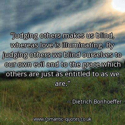 we ourselves and us creating a more just and prosperous america books dietrich bonhoeffer quotes judging others