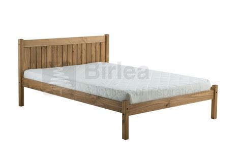 Birlea Rio 4ft Small Double Pine Wooden Bed Frame By Birlea Small Bed Frames