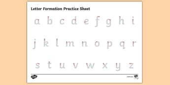 letter formation twinkl letter formation primary resources handwriting page 1