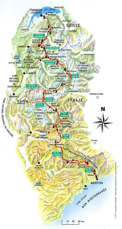road trip route des grandes alpes p 233 r 233 grinations d un - Grã Ne Karte