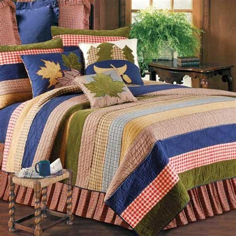 Lodge Quilts Bedding by Lodge Living Quilt And Cabin Bedding