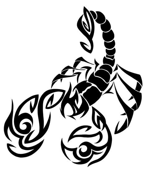 scorpio tribal tattoo scorpio tattoos designs ideas and meaning tattoos for you