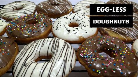 how to make eggless doughnuts at home by cooking with